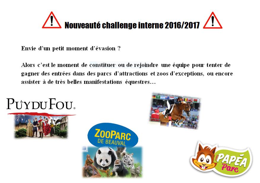 Challenge interne